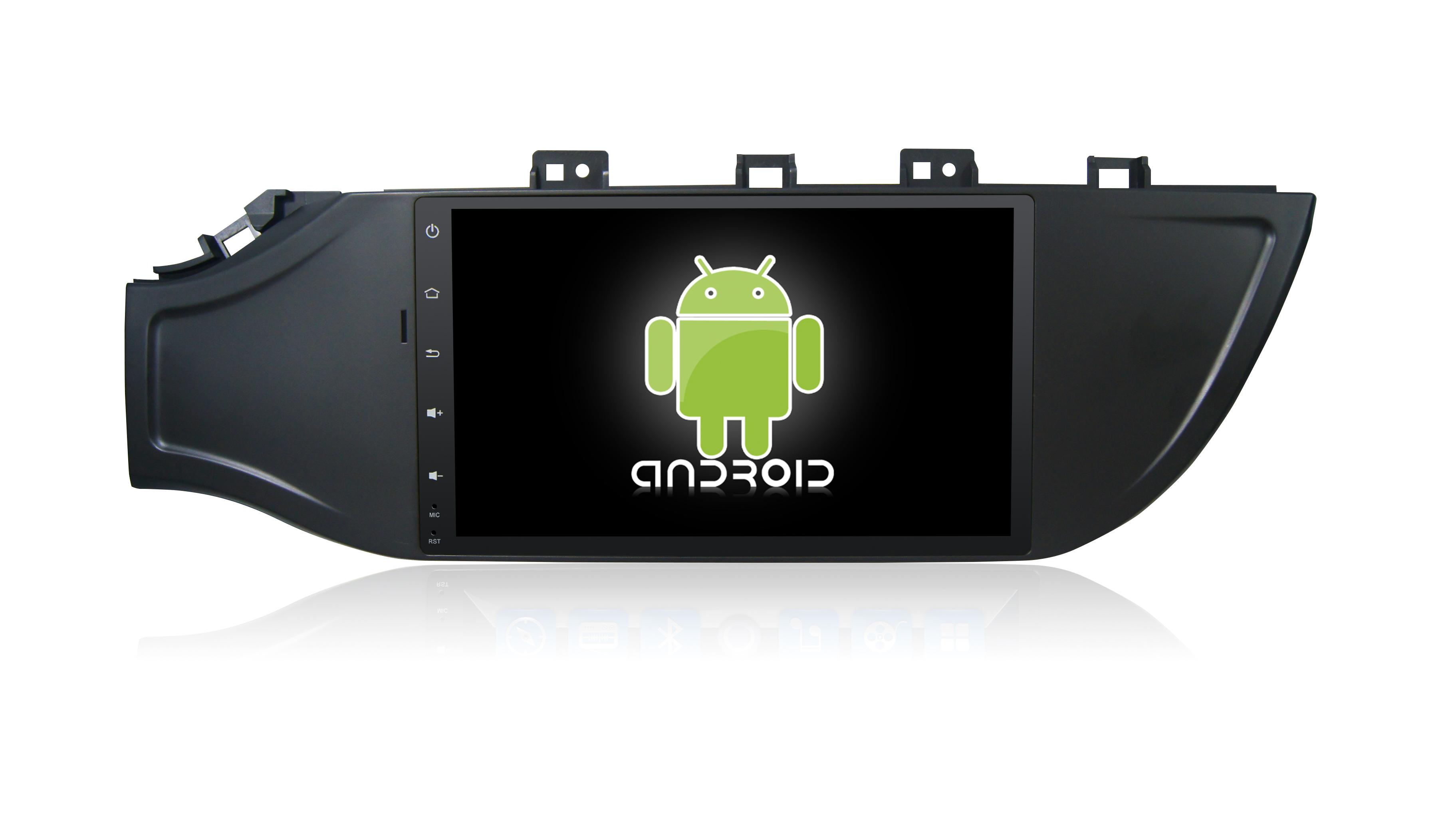 Штатная магнитола CARMEDIA KR-9047-T8 для Kia Rio 2017+ Android 7.1.2 k1 android 5 1 os smart watch phone mtk6580 512mb 8gb support wifi sim card bluetooth gps smartwatch for ios android os