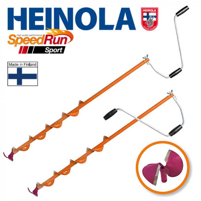 Ледобур Heinola SpeedRun SPORT 100мм/0.6м