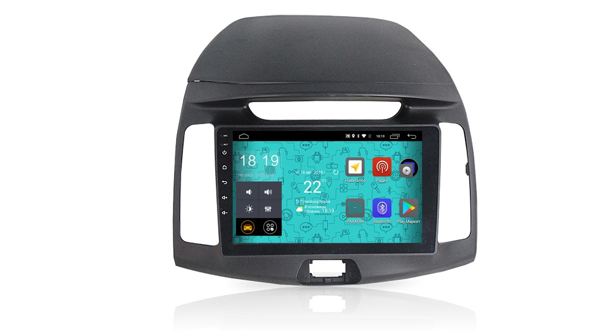 Штатная магнитола Parafar 4G/LTE с IPS матрицей для Hyundai Elantra Old на Android 7.1.1 (PF980) (+ Камера заднего вида в подарок!)