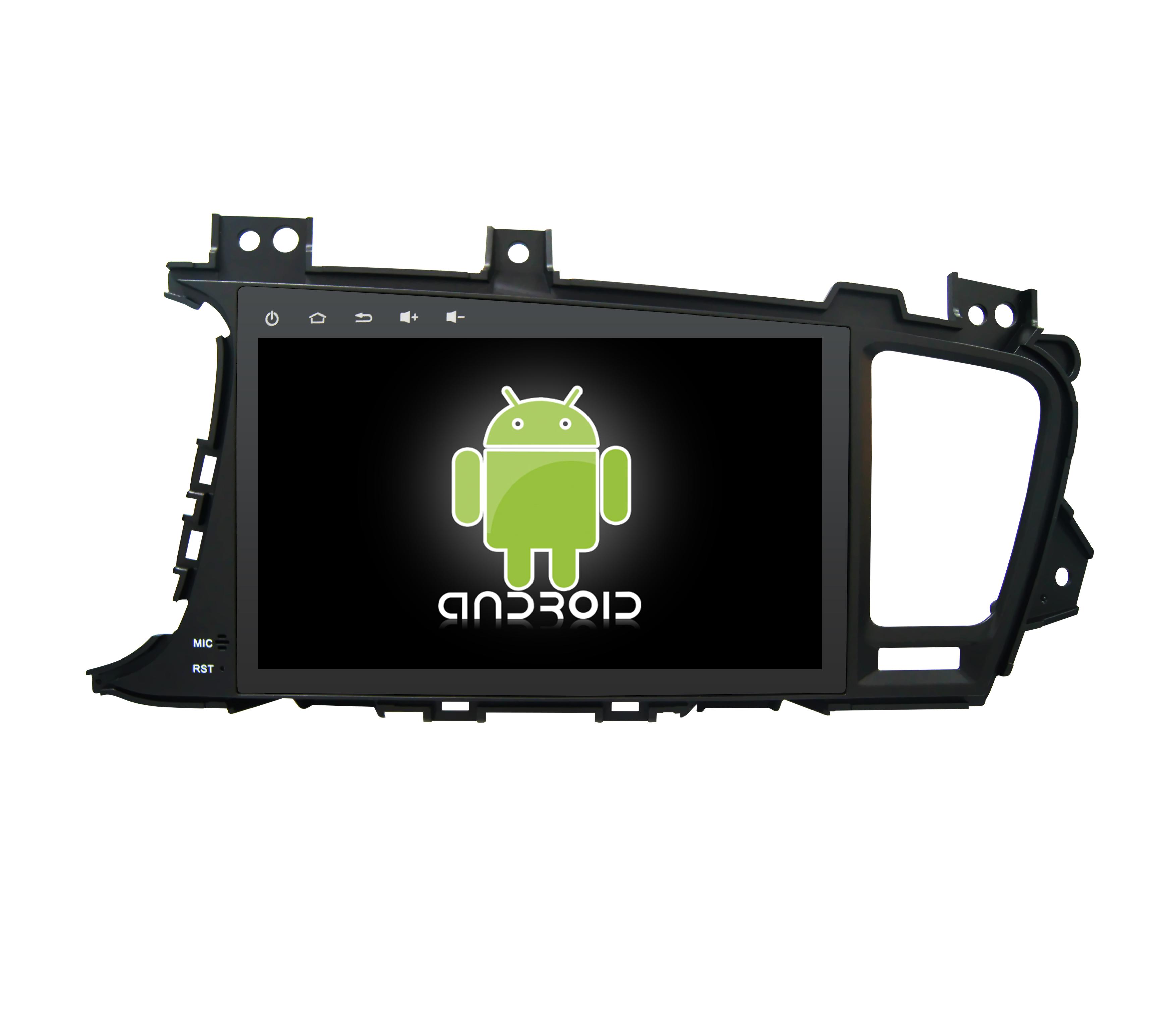 Штатная магнитола CARMEDIA KR-9045-T8 для Kia Optima/K5 2010-2013 Android 7.1.2 (1) vivibright gp90 lcd projector 3200 lumens android 4 44 os