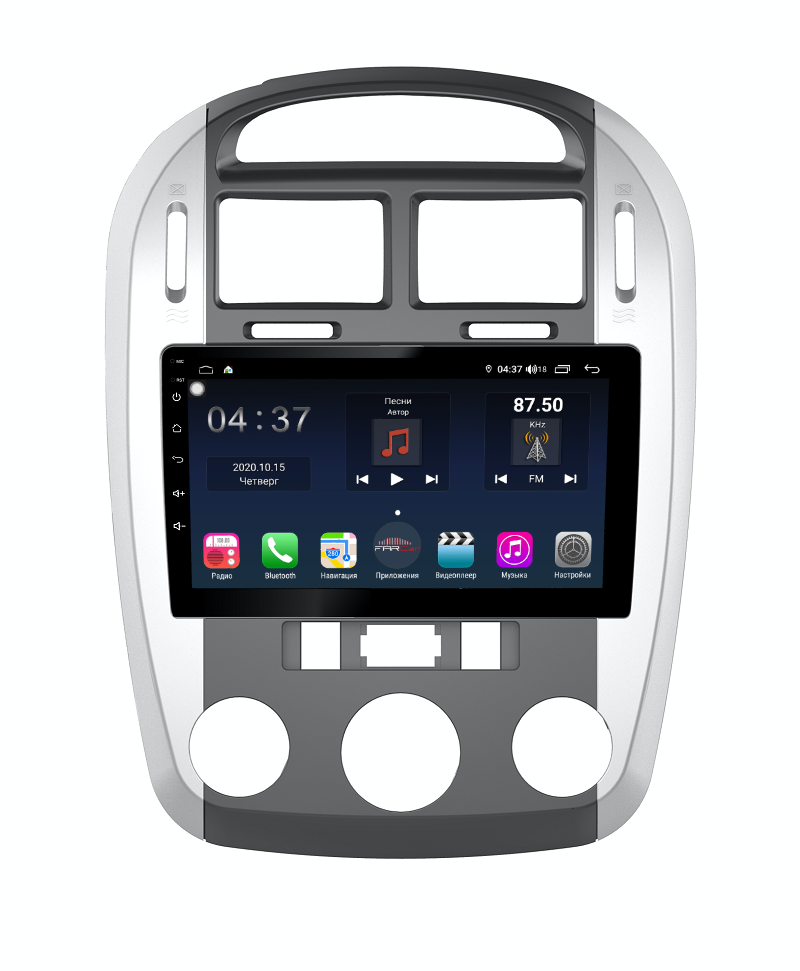 Штатная магнитола FarCar s400 для KIA Cerato на Android (TG046R) (+ Камера заднего вида в подарок!)