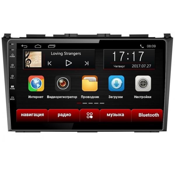 Головное устройство Subini HON901 с экраном 9 для Honda CR-V III 2006-2012 (+ Камера заднего вида в подарок!).