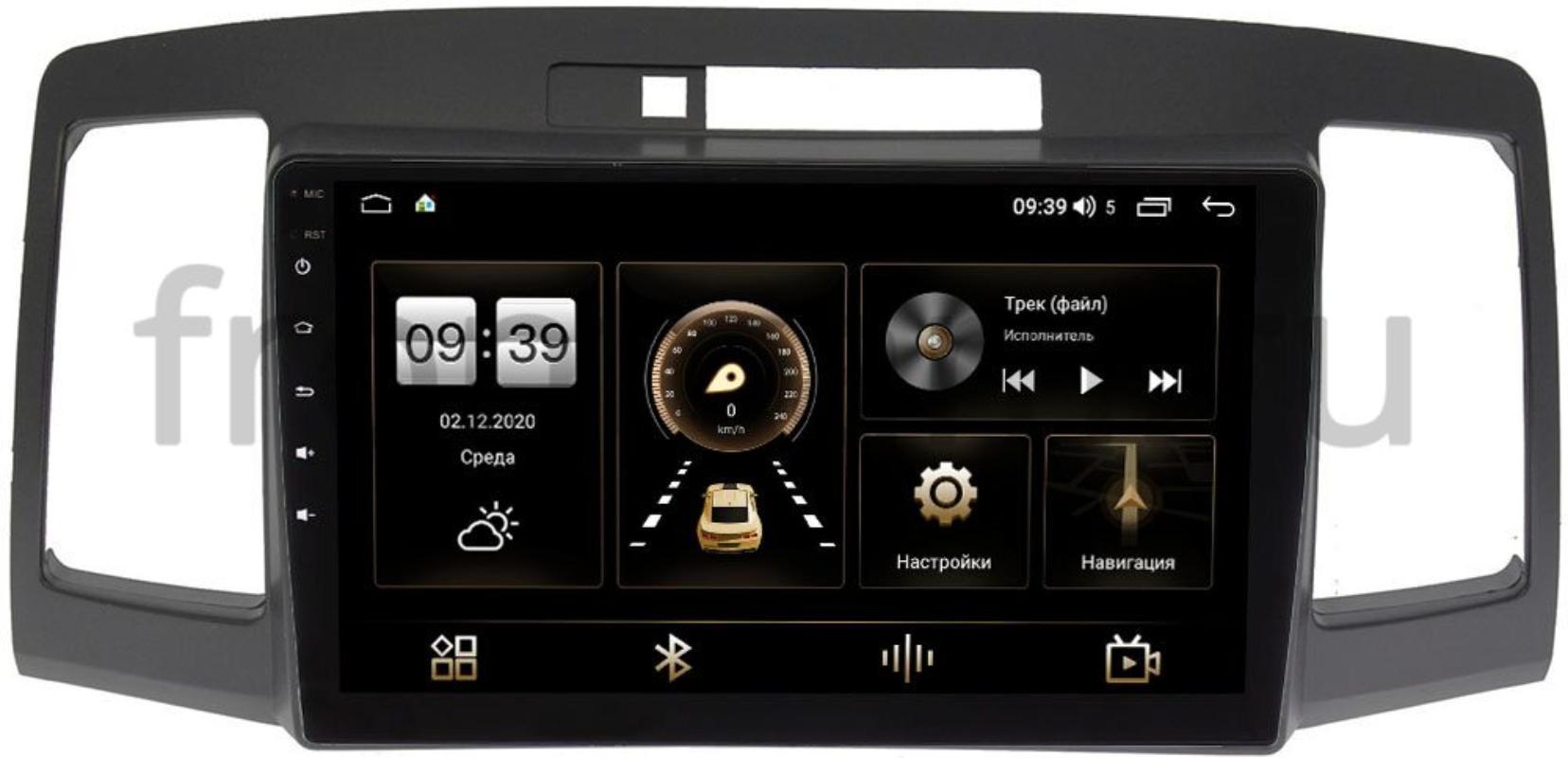 Штатная магнитола Toyota Allion I 2001-2007, Premio I (T24) 2001-2007 LeTrun 4196-9172 на Android 10 (6/128, DSP, QLed) С оптическим выходом (+ Камера заднего вида в подарок!)