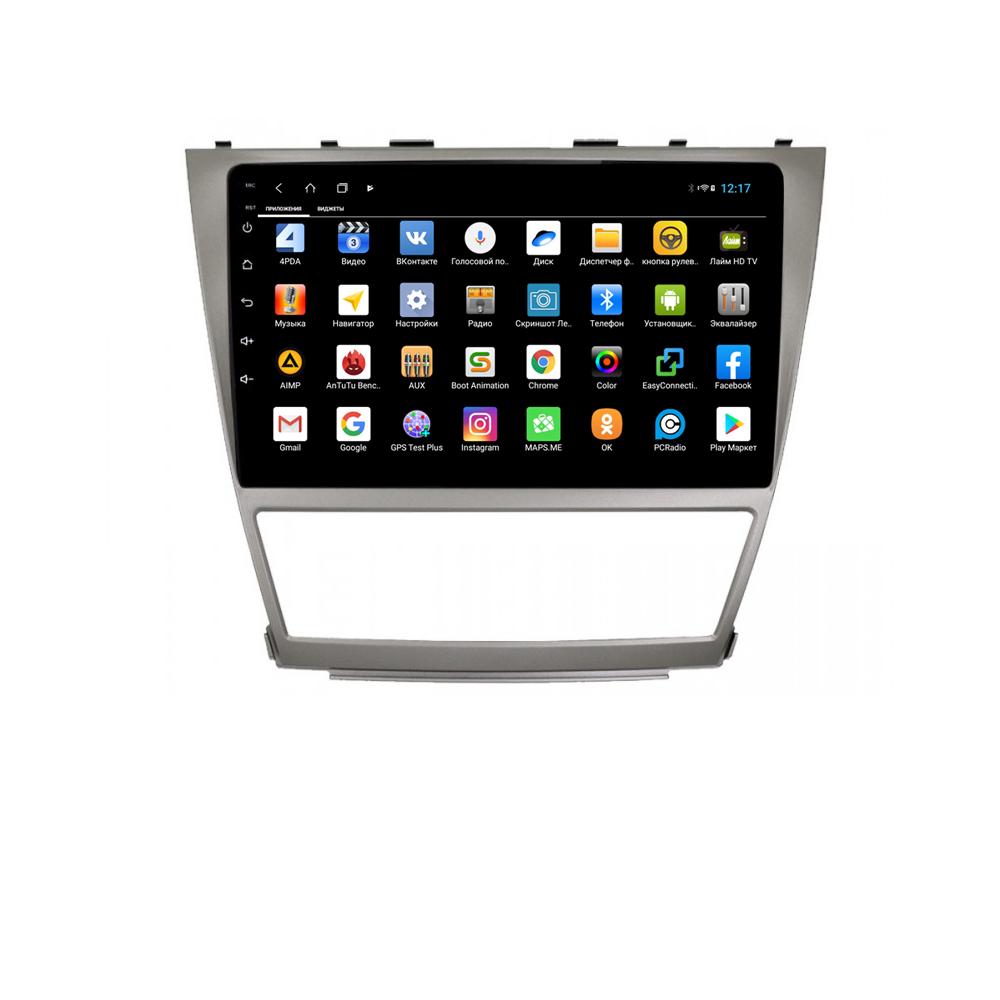 Фото - Штатная магнитола Parafar для Toyota Camry V40 Android 8.1.0 (PF064XHD) (+ Камера заднего вида в подарок!) штатная магнитола parafar для toyota lc100 1998 2003 android 8 1 0 pf450xhd камера заднего вида в подарок