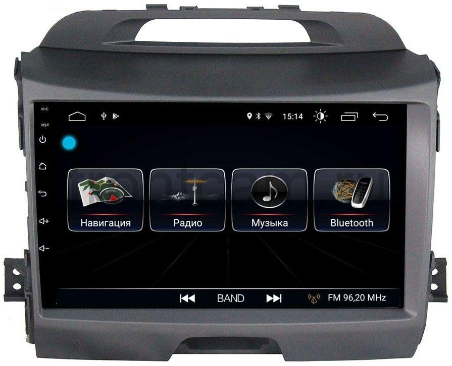 Штатная магнитола LeTrun 1867 для Kia Sportage III 2010-2016 на Android 8.0.1 MTK-L 1Gb компьютерные аксессуары oem 5pcs ipad wifi 3g gps