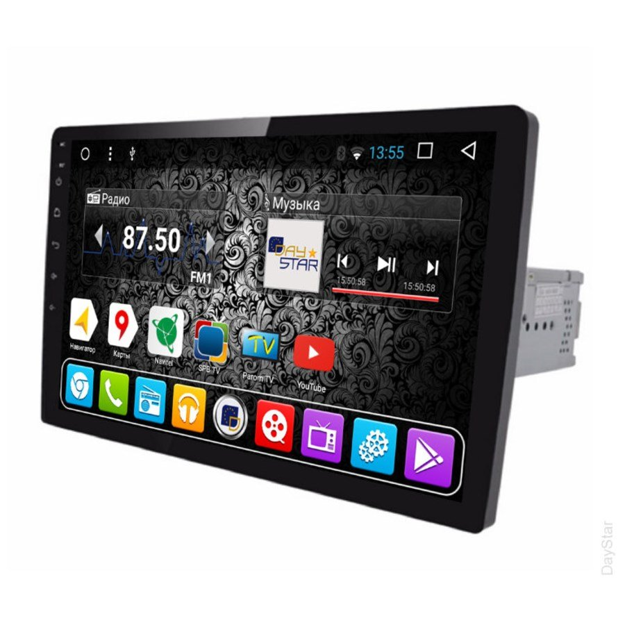 Автомагнитола DayStar DS-7062HB 1DIN универсальная ANDROID (8 ядер, 2Gb ОЗУ, 32Gb памяти) daystar ds 7067hd page 9