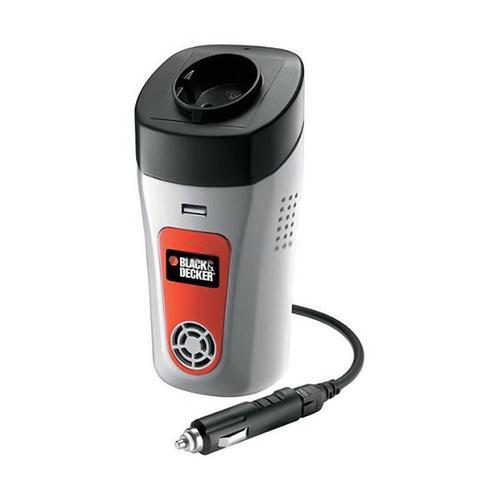 Преобразователь напряжения автомобильный Black & Decker BDPC100C (12В > 220В, 100Вт, USB)