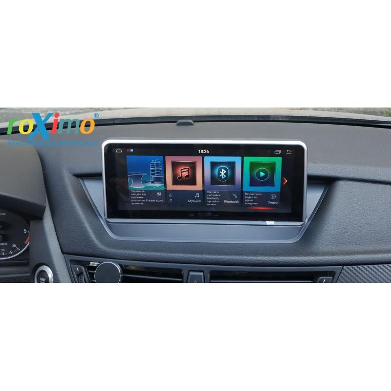 Штатная магнитола Roximo RW-2704C-2gb для BMW X1 E84(2009-2015) для комплектации со штатным дисплеем, CIC (+ Камера заднего вида в подарок!)
