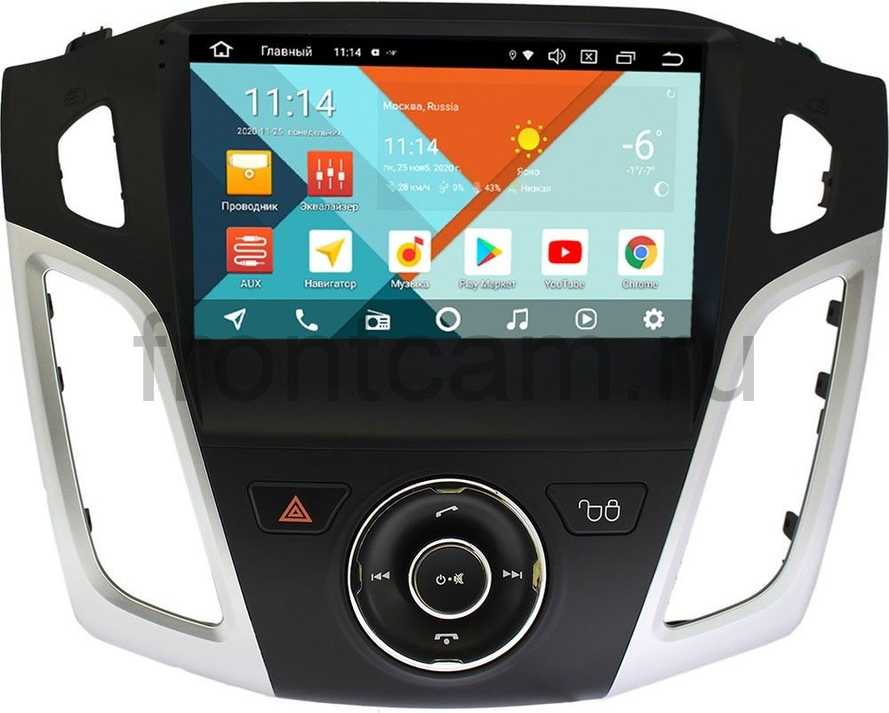 Штатная магнитола Ford Focus III 2011-2018 Wide Media KS9126QR-3/32 тип 2 DSP CarPlay 4G-SIM Android 10 (+ Камера заднего вида в подарок!)