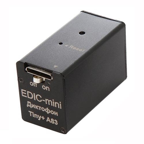 Диктофон Edic-mini TINY+ A83-150HQ (+ Антисептик-спрей для рук в подарок!) диктофон edic mini tiny s e84 150hq салфетки из микрофибры в подарок