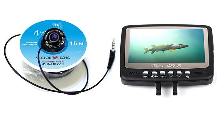 Подводная видеокамера Фишка 4303 (+ Леска в подарок!)