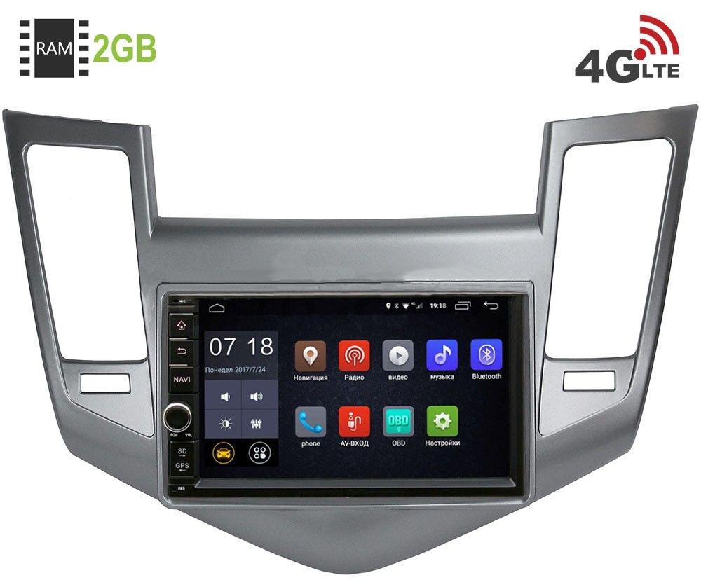 Штатная магнитола LeTrun 1968-RP-CVCRB-55 для Chevrolet Cruze I 2009-2012 Android 6.0.1 (4G LTE 2GB)LeTrun<br>LeTrun 1968-RP-CVCRB-55 — официальная прошивка на Android 6.0.1 обновляемая по воздуху c 2 Гб оперативной и 16 Гб встроенной памяти под все ваши задачи.