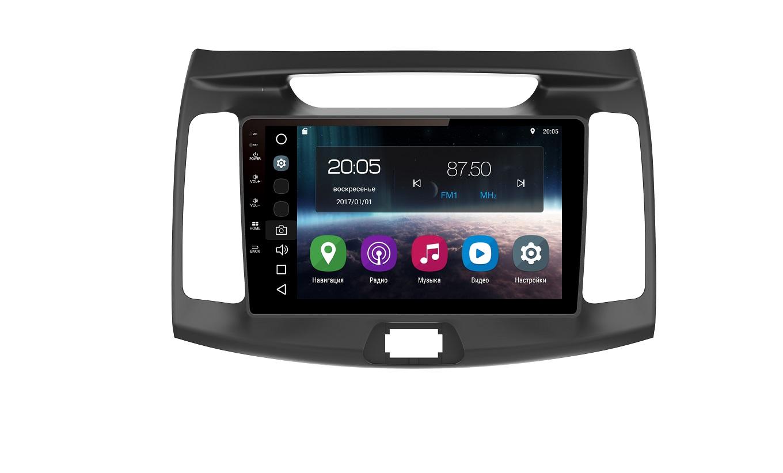 Штатная магнитола FarCar s200 для Hyundai Elantra на Android (V036R) штатная магнитола farcar s130 для hyundai elantra 2014 2016 на android r092