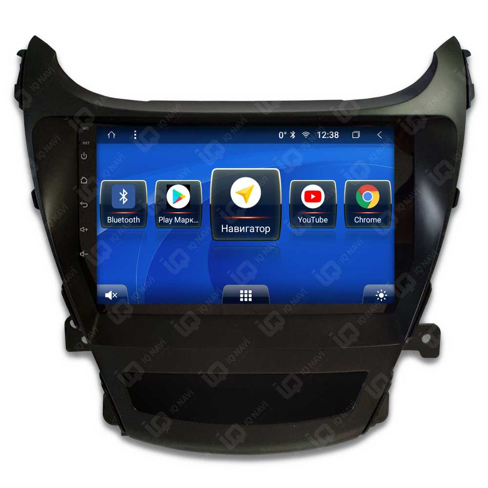 Автомагнитола IQ NAVI T58-1602CFHD Hyundai Elantra V Restyle (MD) (2014-2016) 9