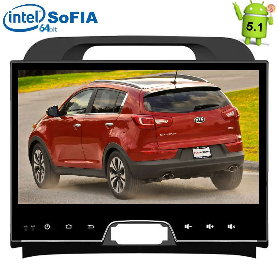 Штатная магнитола LeTrun 1594 для Kia Sportage Android 5.1.1 7 hd 2 din car radio mp5 player touch screen bluetooth phone stereo radio fm mp3 mp4 audio video usb auto electronics in dash