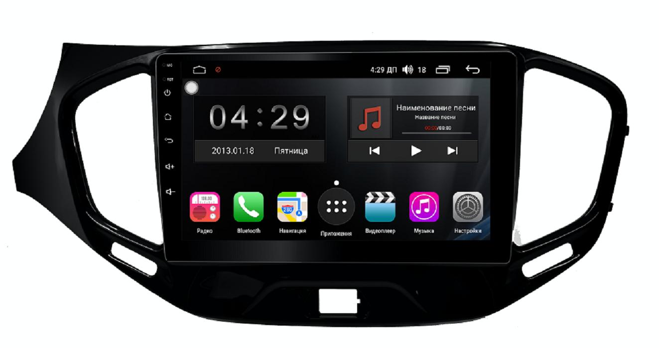Штатная магнитола FarCar s300-SIM 4G для Lada Vesta на Android (RG1205R) (+ Камера заднего вида в подарок!)