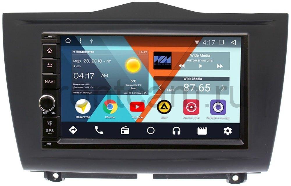 Штатная магнитола Wide Media WM-VS7A706-OC-2/32-RP-LDGRFL-75 для Lada Granta I 2018-2019 Android 8.0 (+ Камера заднего вида в подарок!)