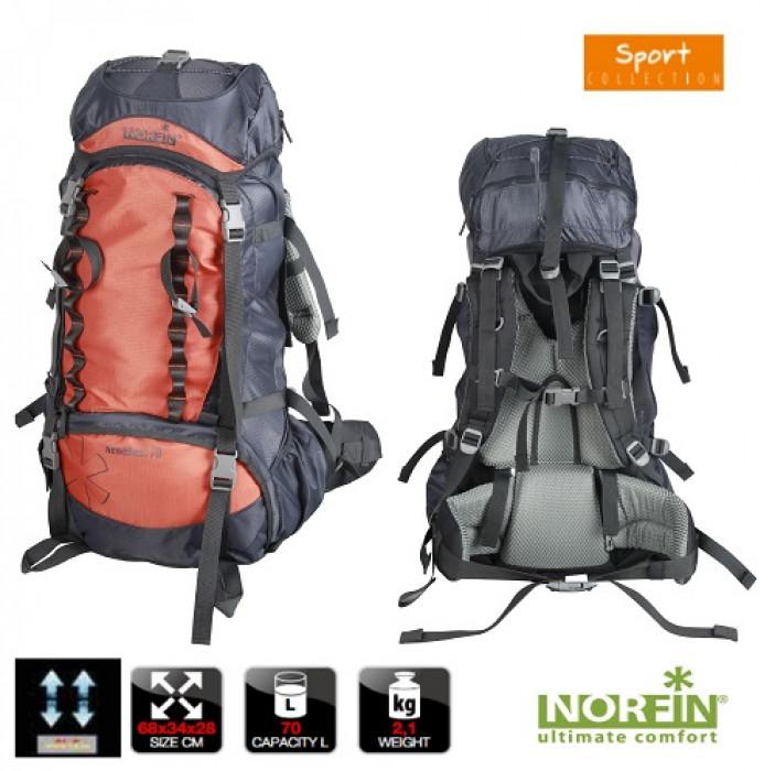 Рюкзак Norfin NEWEREST 70 NS рюкзак erg ns xo 25l stripes l ck erry ltlil c 3725
