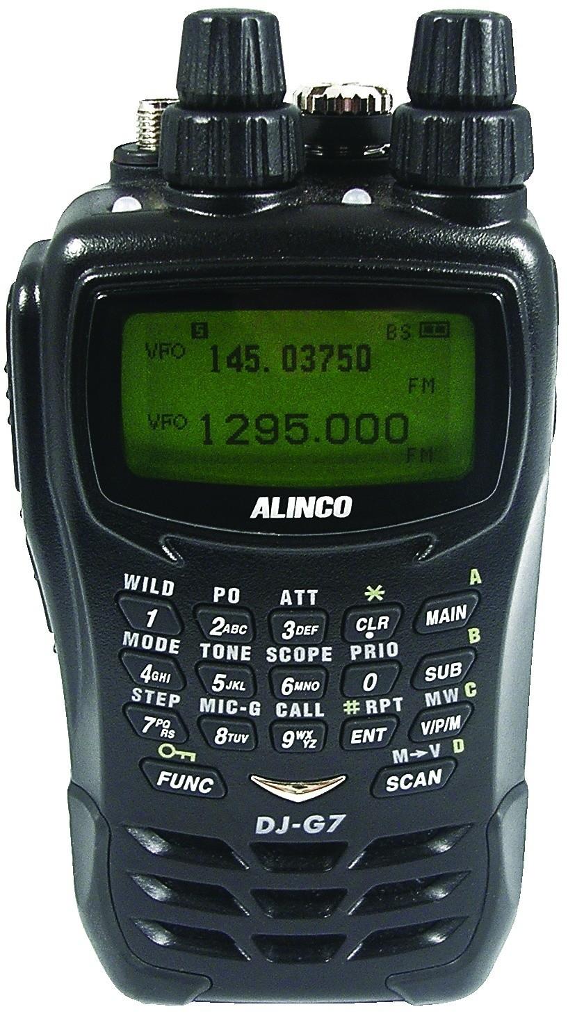 Портативная рация Alinco DJ-G7 alinco dj a40
