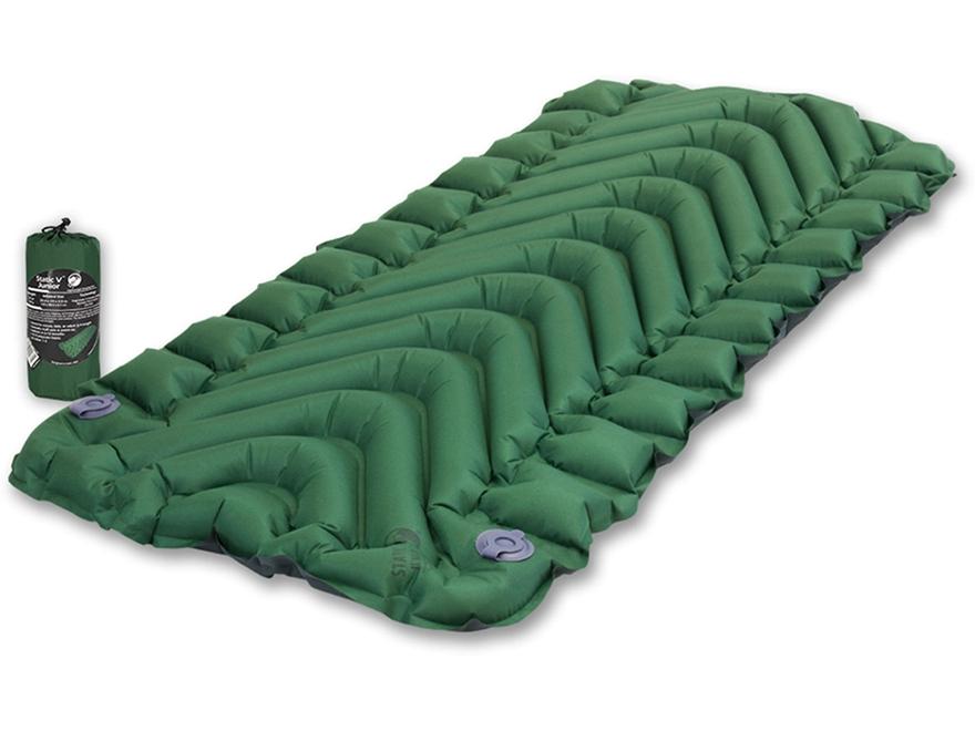 Надувной коврик Klymit Static V Junior Green, зеленый (06SJGr01A)