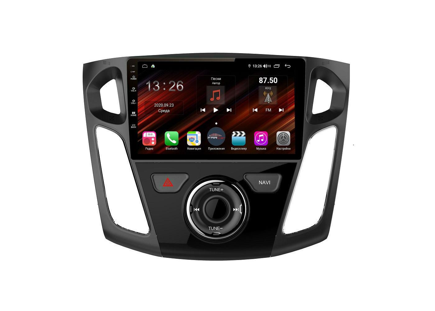 Штатная магнитола FarCar s400 Super HD для Ford Focus 3 на Android (XH150/501R) (+ Камера заднего вида в подарок!)