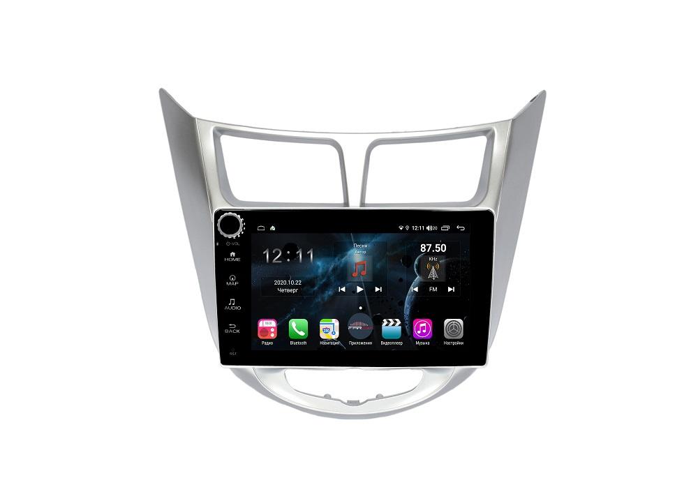 Штатная магнитола FarCar s400 для Hyundai Solaris на Android (H067RB) (+ Камера заднего вида в подарок!)