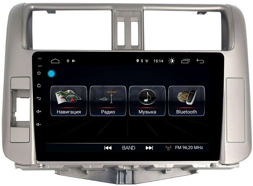 цена на Штатная магнитола LeTrun 1863 для Toyota Land Cruiser Prado 150 2009-2013 на Android 8.0.1 MTK-L 1Gb (+ Камера заднего вида в подарок!)