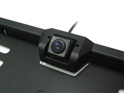 Камера заднего вида в рамке для номера Avis AVS308CPR (CCD)