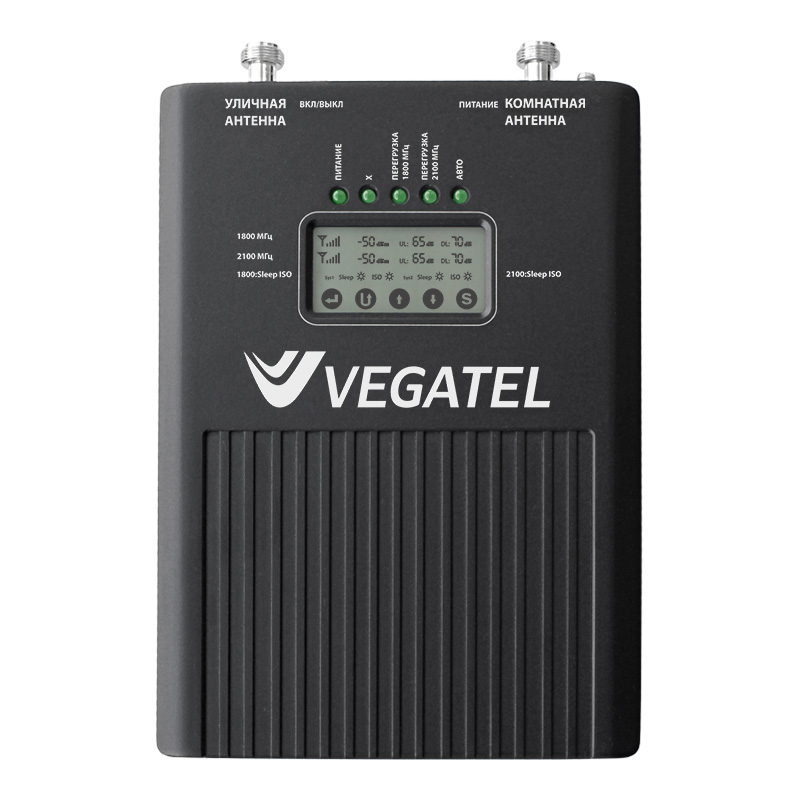 Репитер VEGATEL VT3-900E/1800/3G (LED) mobile phone 2g gsm 900mhz signal booster gsm980 with yagi antenna lcd display