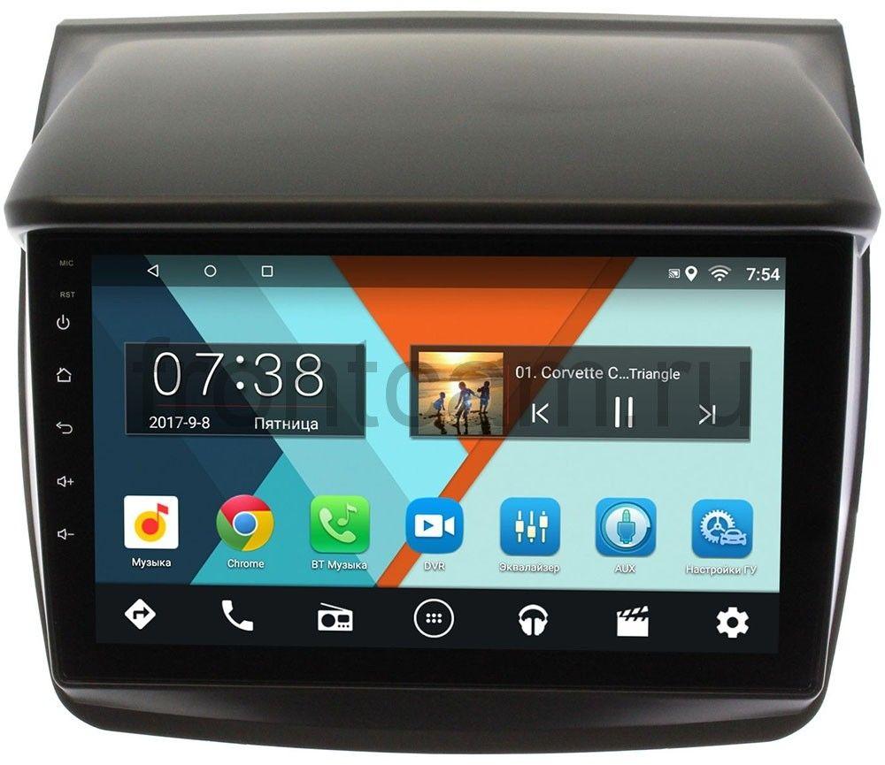 цена на Штатная магнитола Mitsubishi Pajero Sport II 2008-2013, L200 IV 2006-2015 Wide Media MT9057MF-2/16 на Android 7.1.1 для авто без Navi (+ Камера заднего вида в подарок!)