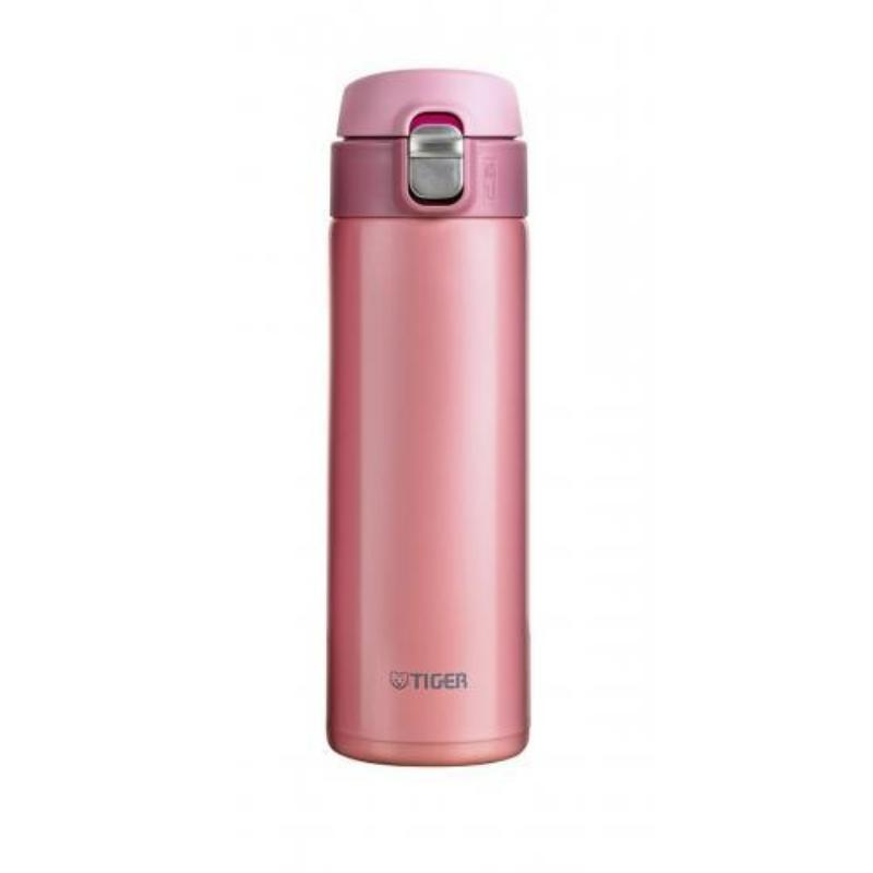 Термокружка Tiger MMJ-A (0,6 литра), розовая термокружка с крышкой кофейная формула