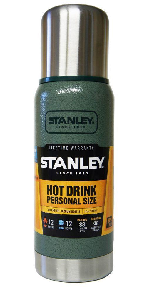 Термос Stanley Adventure (0.5л) зеленый