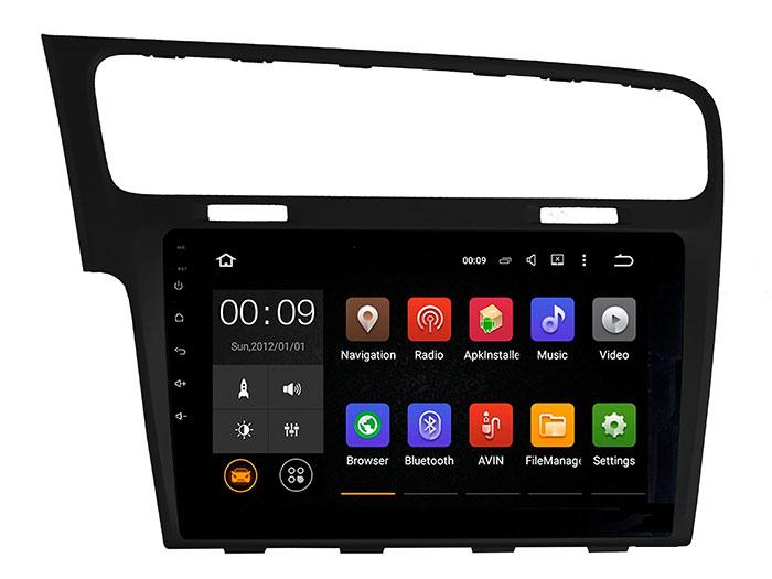 Штатная магнитола Roximo 4G RX-3715B для Volkswagen Golf 7 (Android 6.0) черный цвет (+ Камера заднего вида в подарок!)