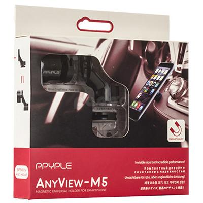 Ppyple AnyView-M5 держатель для телефона (магнитный) аксессуар защитное стекло для huawei p20 pro full screen svekla blue zs svhwp20pro fsblue
