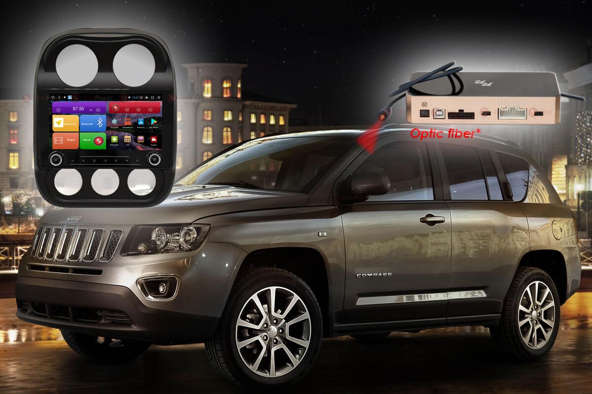 Автомагнитола для Jeep Compass RedPower K 51316 R IPS DSP ANDROID 8+ (+ Камера заднего вида в подарок!)