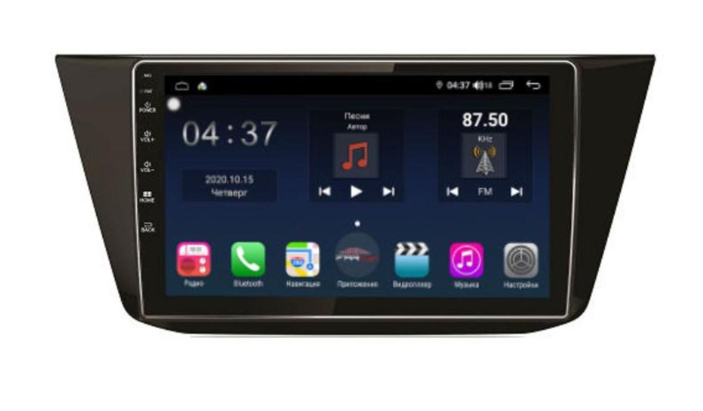 Штатная магнитола FarCar s400 для VW Tiguan на Android (TG731R) (+ Камера заднего вида в подарок!)