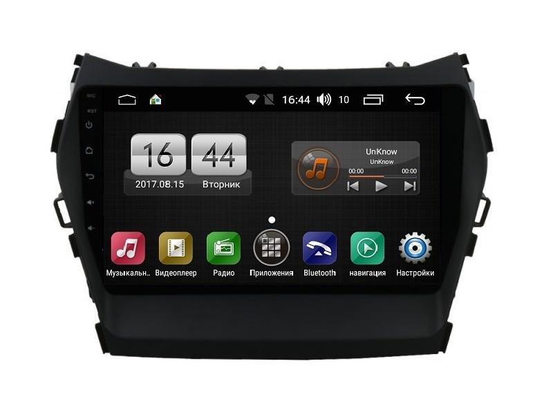 Штатная магнитола FarCar s195 для Hyundai Santa Fe 2012+ на Android (LX209R) (+ Камера заднего вида в подарок!)