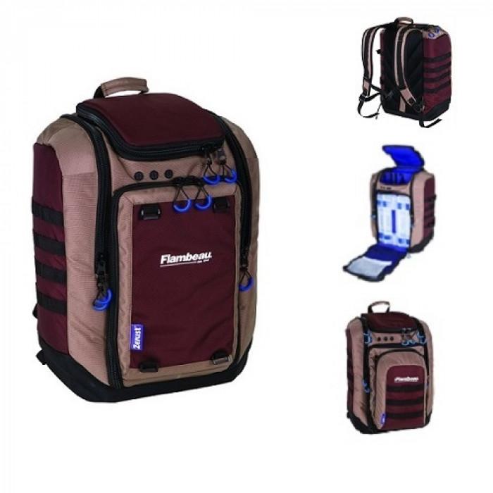 Рюкзак рыболовный с коробками Flambeau Portage PACK BACKPACK зажим рыболовный kosadaka