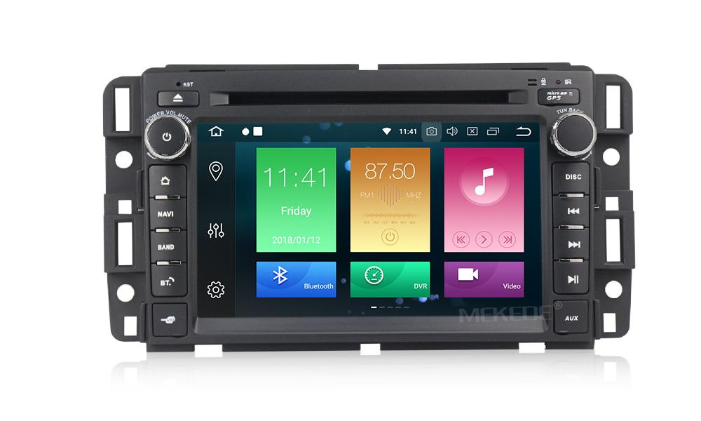 Штатная магнитола CARMEDIA MKD-G727-P30-8 Chevrolet (по списку) Android 9.0 (+ камера заднего вида)CARMEDIA<br>CARMEDIA MKD-G727-P30-8 Головное устройство для Chevrolet, Hummer. Android 9.0, процессор Octa-Core RK PX30 4x1,6 Ghz, 2Gb Ram, 16 Gb ROM. Радио модуль HD Radio NXP 6686 (используется в аудиосистеме Mercedes и BMW) уверенный приём даже при самом слабом сигнале. Аудио усилитель в связке с DSP процессором дает чистейший объемный звук!