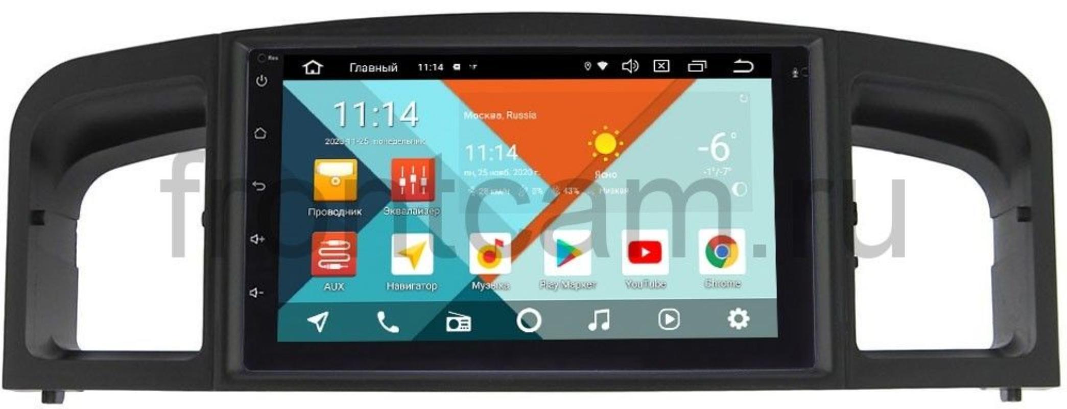 Штатная магнитола Lifan Solano I (620), Solano I (630) Wide Media KS7001QR-3/32-RP-LF620-18 на Android 10 (DSP CarPlay 4G-SIM) (+ Камера заднего вида в подарок!)