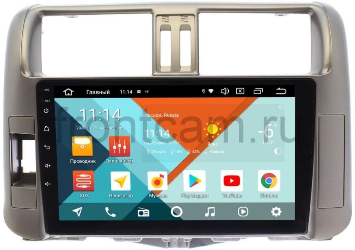 Штатная магнитола Wide Media KS9005QR-3/32 DSP CarPlay 4G-SIM для Toyota LC Prado 150 2009-2013 (для авто с усилителем) на Android 10 (+ Камера заднего вида в подарок!)