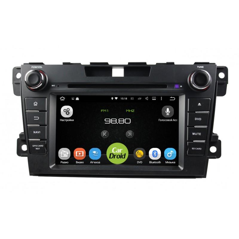 Штатная магнитола Roximo CarDroid RD-2402D для Mazda CX-7 (Android 8.0) DSP (+ Камера заднего вида в подарок!)