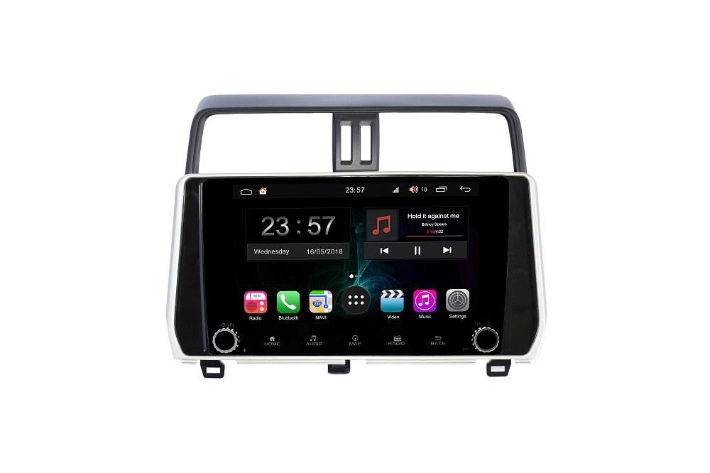 Штатная магнитола FarCar s300-SIM 4G для Toyota Land Cruiser Prado 150 на Android (RG1053RB) (+ Камера заднего вида в подарок!)