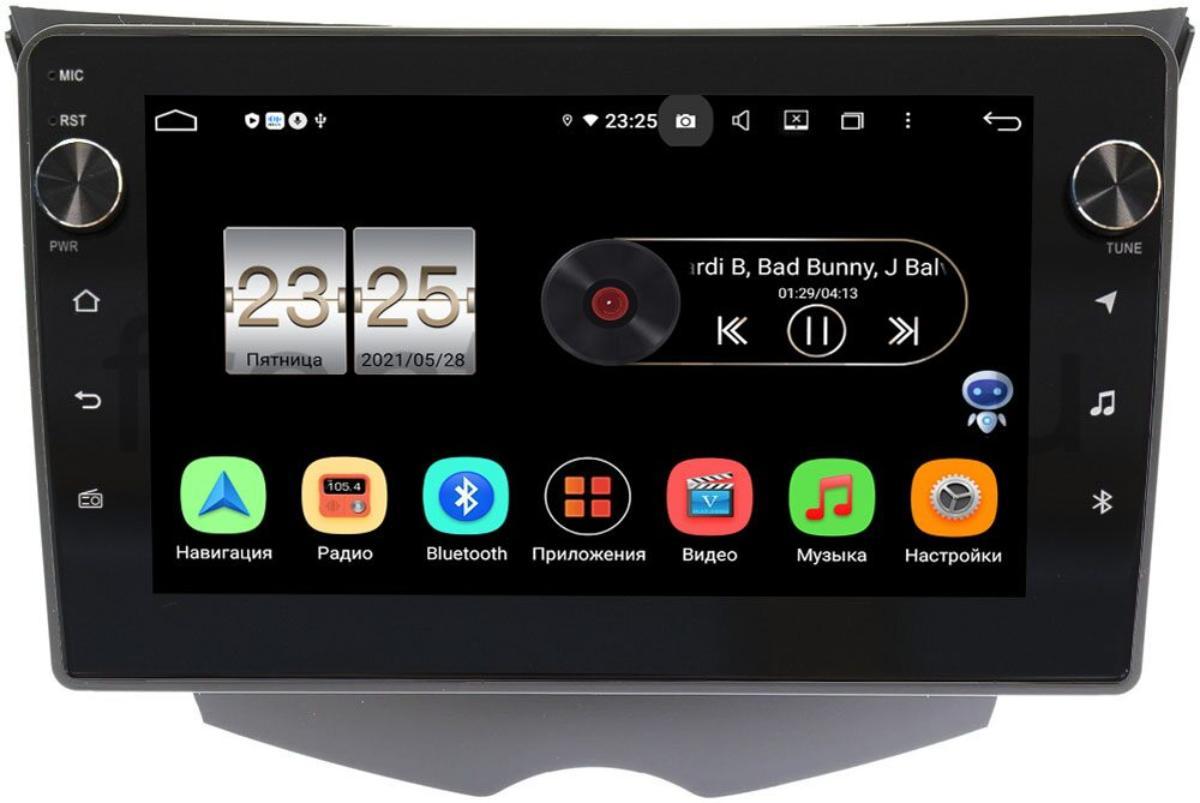 Штатная магнитола LeTrun BPX409-319 для Hyundai Veloster I 2011-2017 на Android 10 (4/32, DSP, IPS, с голосовым ассистентом, с крутилками) (+ Камера заднего вида в подарок!)