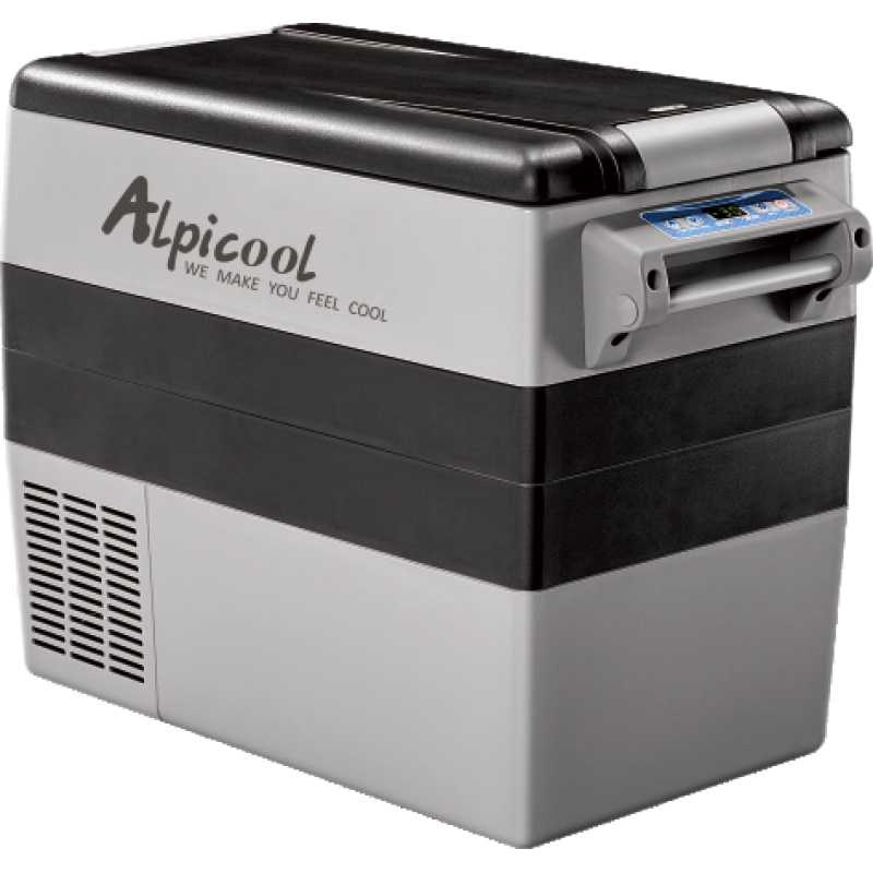 Kомпрессорный автохолодильник ALPICOOL CF-55 (+ Шесть аккумуляторов холода в подарок!)