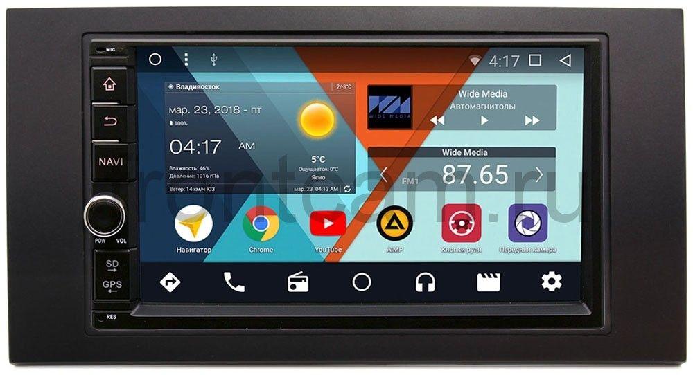 Штатная магнитола Wide Media WM-VS7A706-OC-2/32-RP-FRFC-35 для Ford Kuga, Fiesta, Fusion, Focus, Mondeo Android 8.0 (+ Камера заднего вида в подарок!)