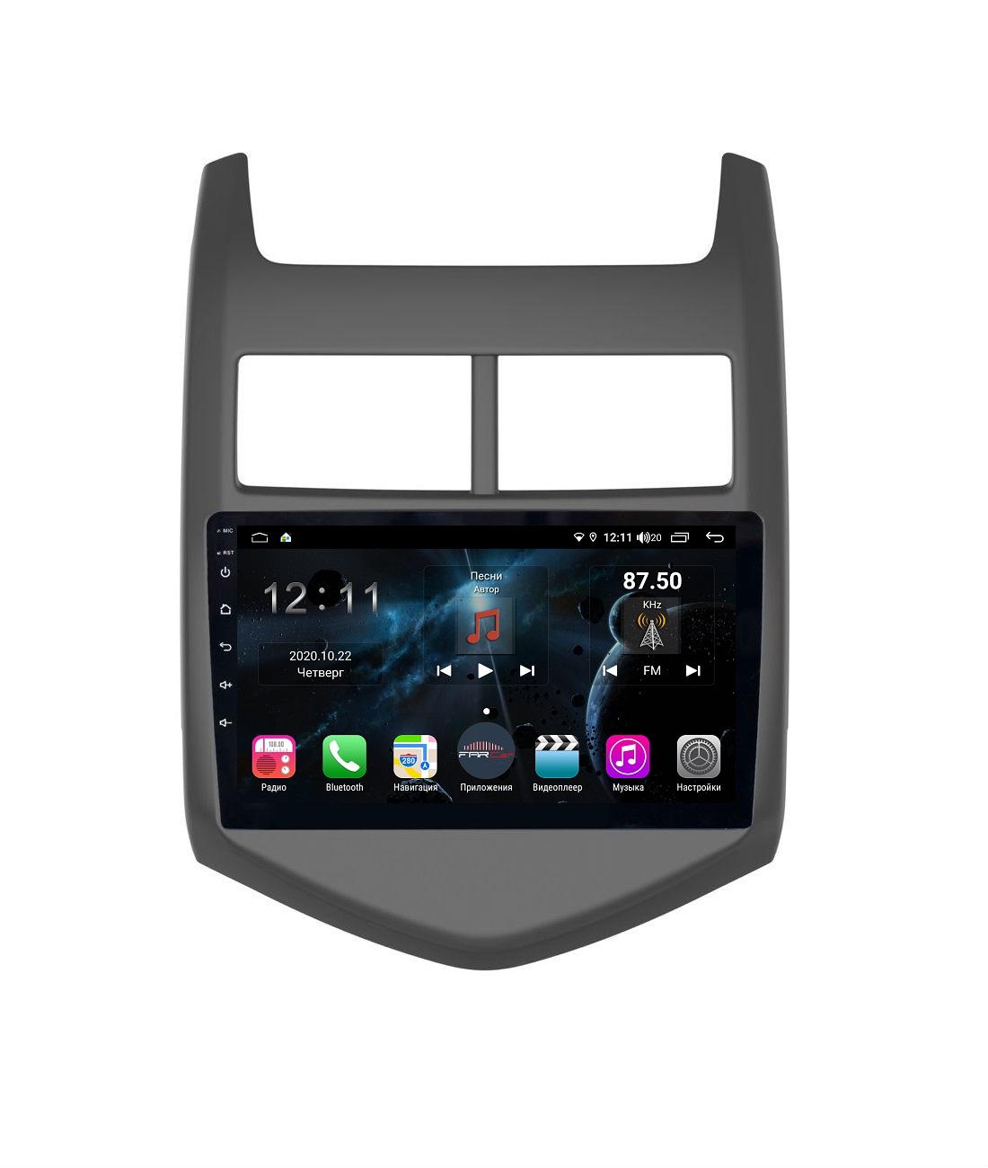 Штатная магнитола FarCar s400 для Chevrolet Aveo на Android (TG107R) (+ Камера заднего вида в подарок!)