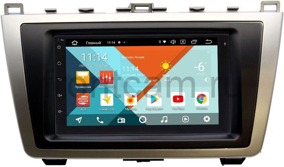 Магнитола в штатное место 2 din Mazda 6 (GH) 2007-2012 Wide Media MT7001PK-2/16-RP-MZ6C-115 на Android 9.1 (DSP 3G-SIM) (+ Камера заднего вида в подарок!)