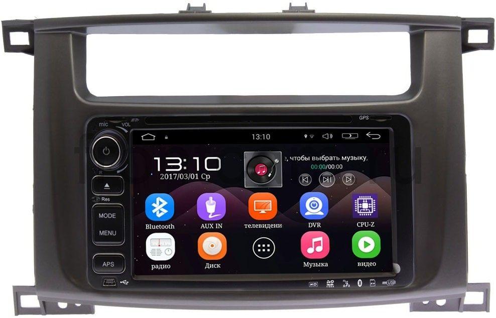 Штатная магнитола Toyota LC 100 2002-2007 LeTrun 1832-RP-TYLC1Xb-40 на Android 5.1 (+ Камера заднего вида в подарок!)