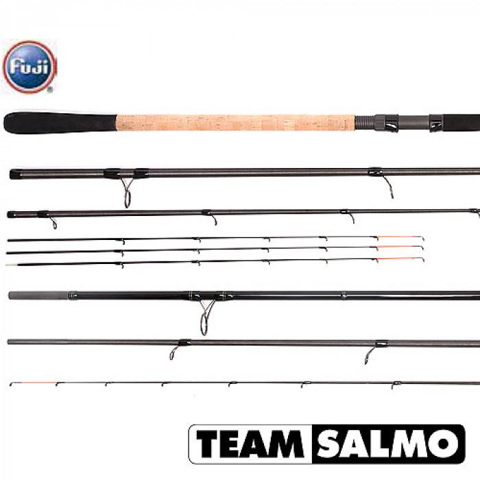 Удилище фидерное Team Salmo ENERGY Feeder 130 3.90 видео